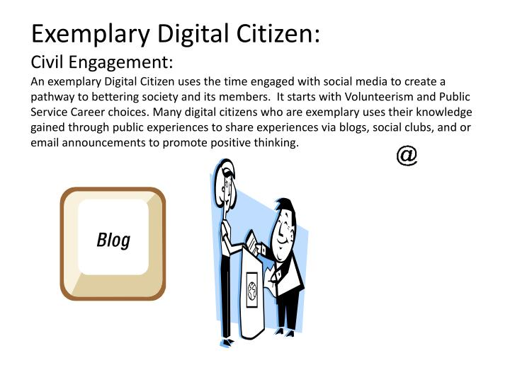 Exemplary Digital Citizen: