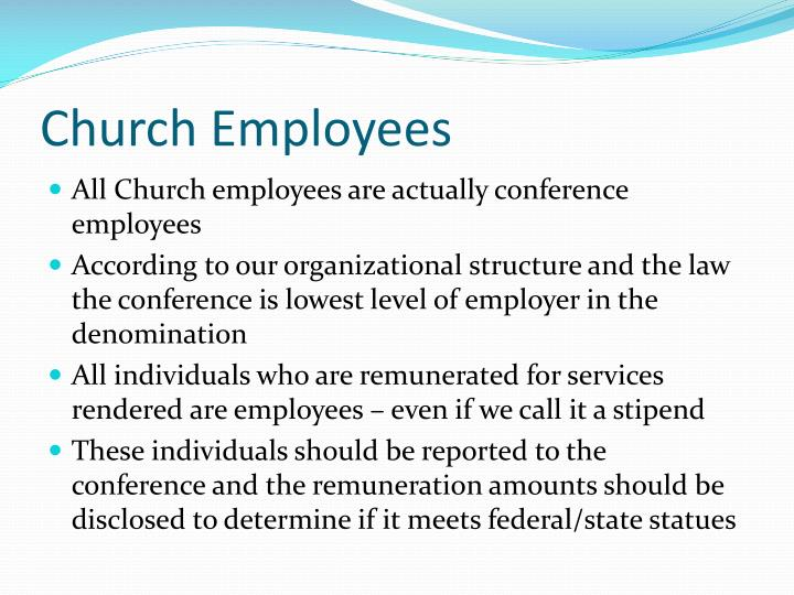 Church Employees