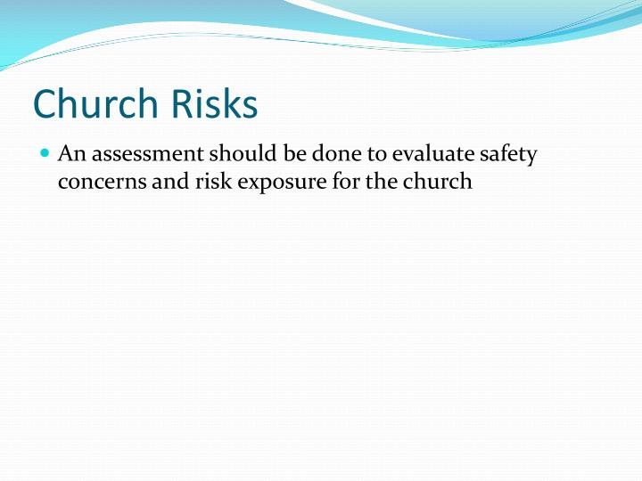 Church Risks