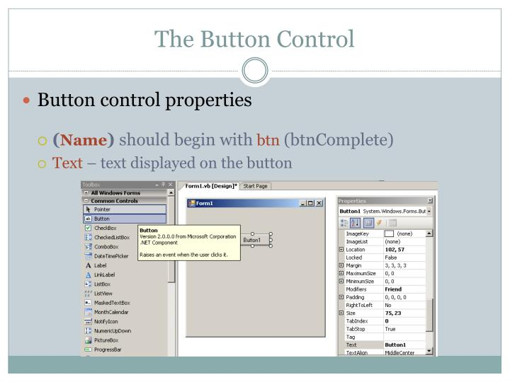 The Button Control