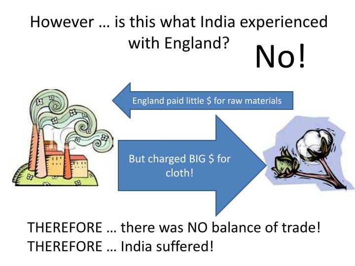 However … is this what India experienced with England?