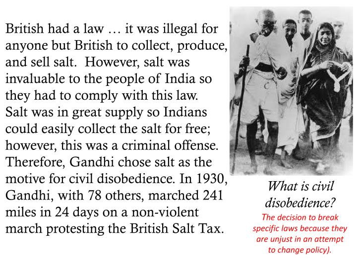 British had a law … it was illegal for anyone but British to collect, produce, and