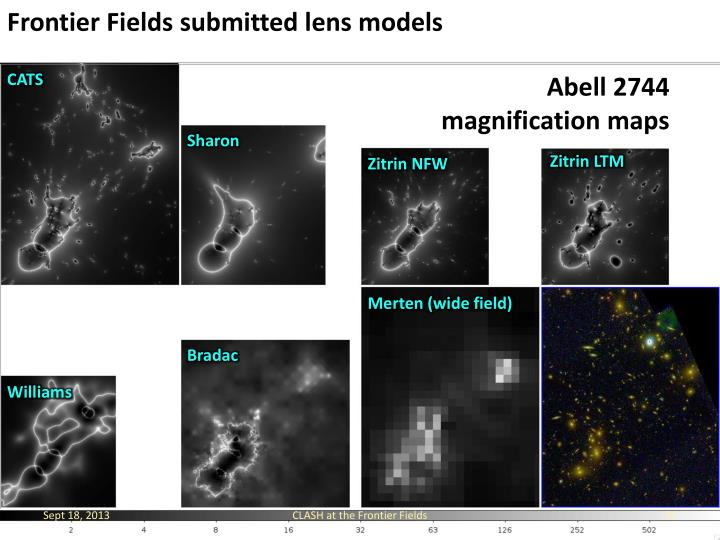 Frontier Fields submitted lens models