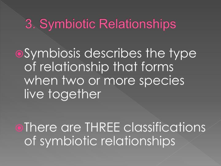 3. Symbiotic Relationships