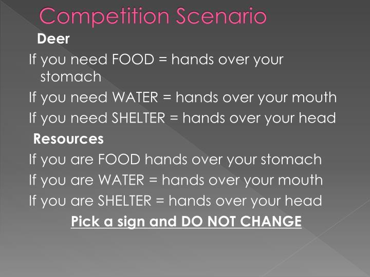 Competition Scenario