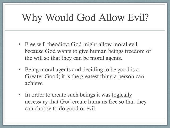 Hick problem of evil essay