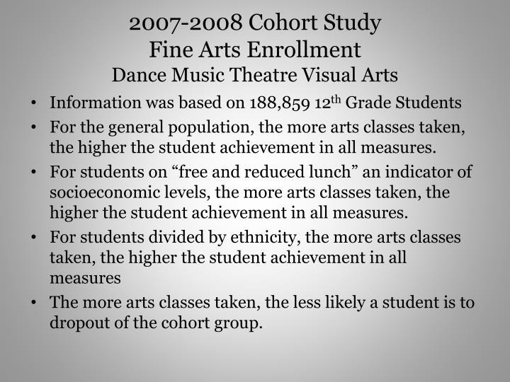 2007-2008 Cohort Study