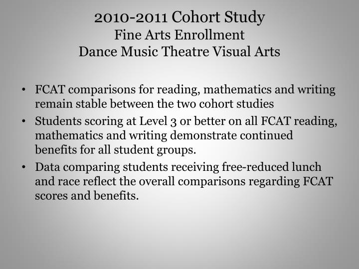 2010-2011 Cohort Study