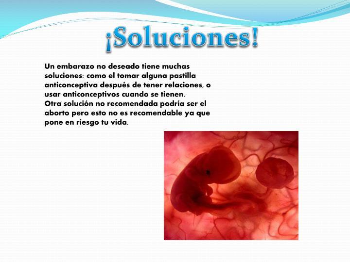 ¡Soluciones!