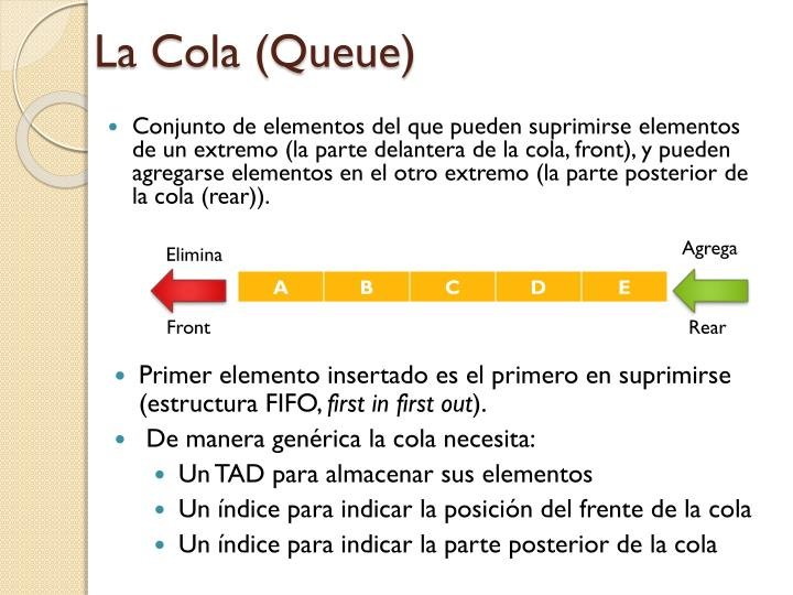 La Cola (Queue)