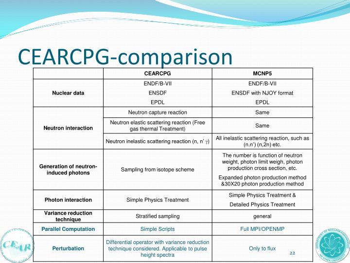 CEARCPG-comparison