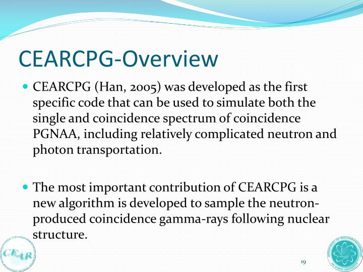 CEARCPG-Overview