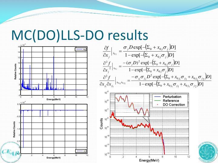 MC(DO)LLS-DO results