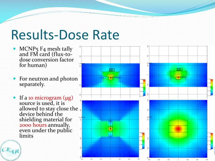 Results-Dose Rate