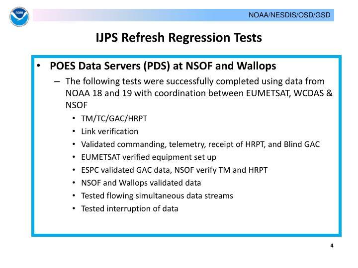 Ppt Noaa Ijps Equipment Refresh Integration And Testing