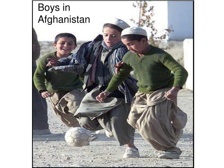 Boys in