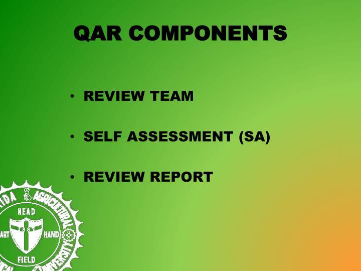 QAR COMPONENTS