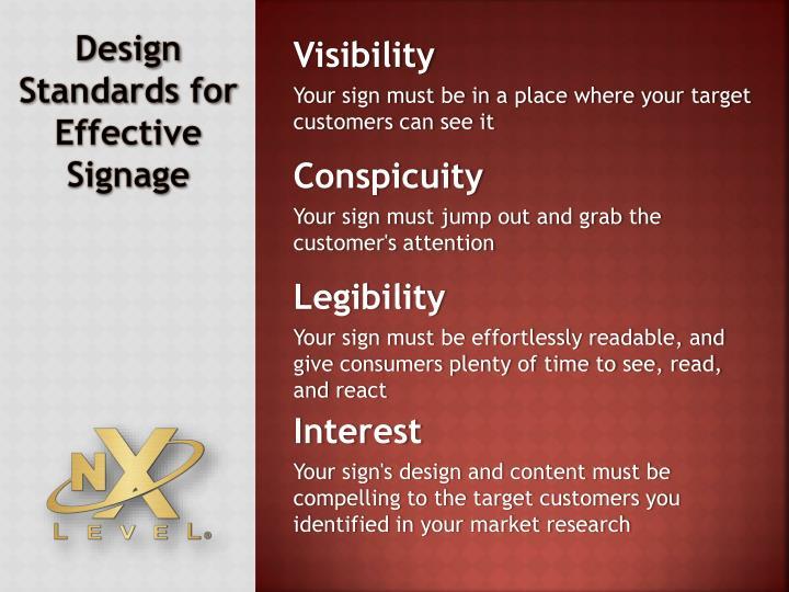 Design Standards for