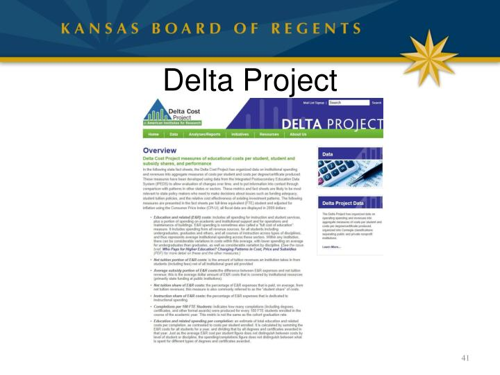 Delta Project