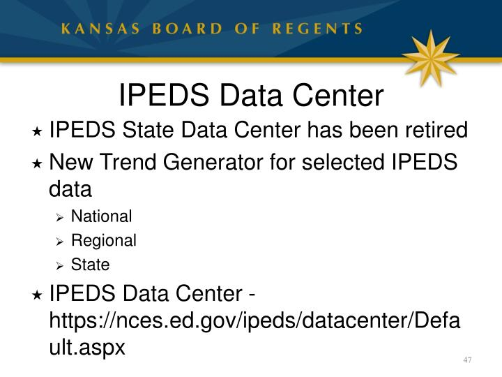 IPEDS Data Center