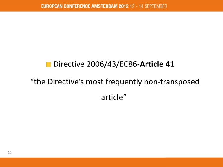 Directive 2006/43/EC86-