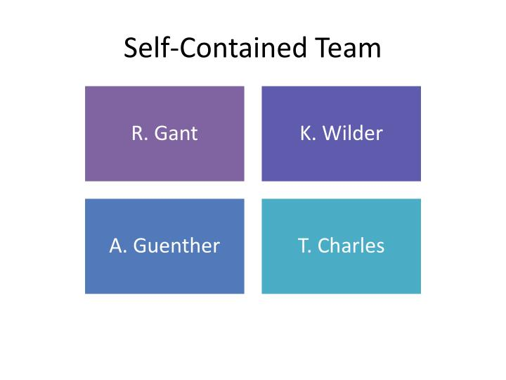 Self-Contained Team