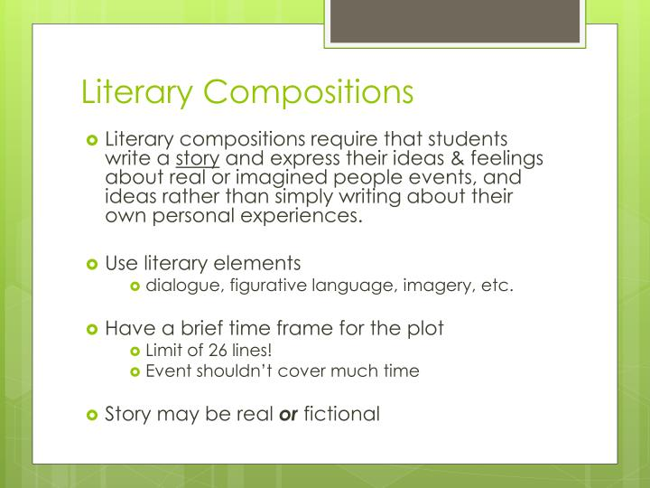 Literary Compositions