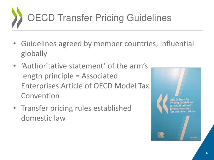 OECD Releases Edition of Transfer Pricing Guidelines