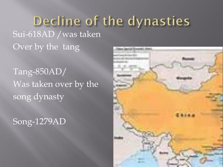 Decline of the dynasties