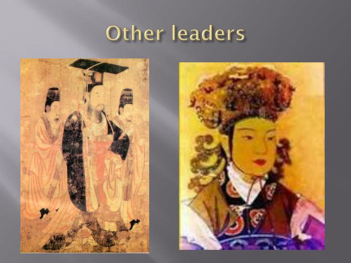Other leaders