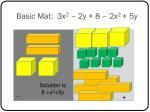 basic mat 3x 2 2y 8 2x 2 5y
