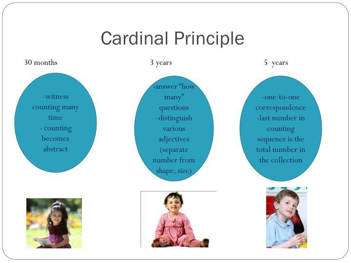 Cardinal Principle