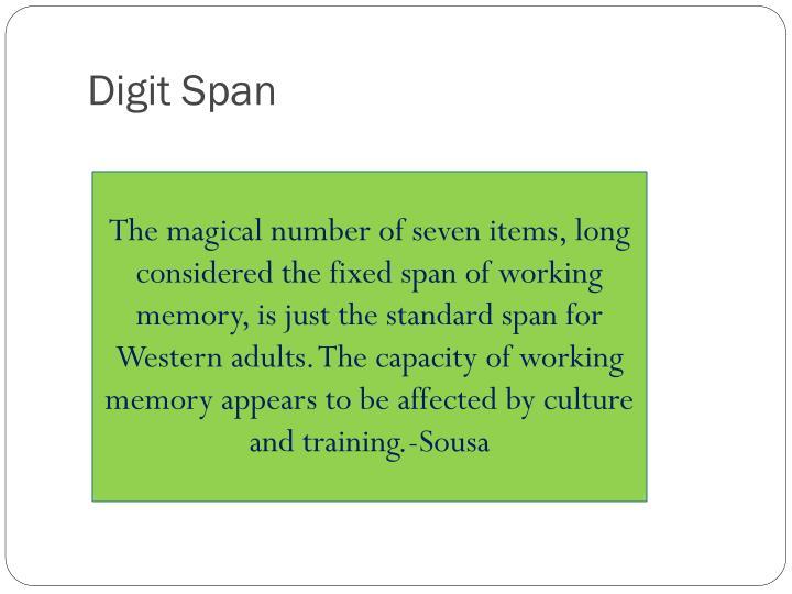 Digit Span