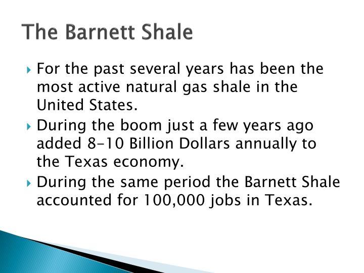 The Barnett Shale