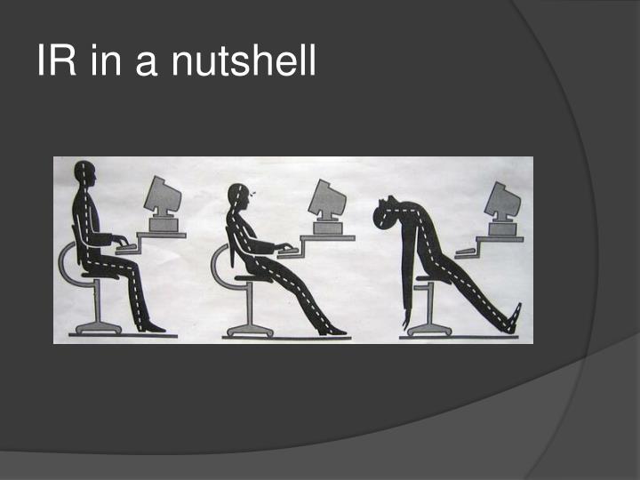 IR in a nutshell