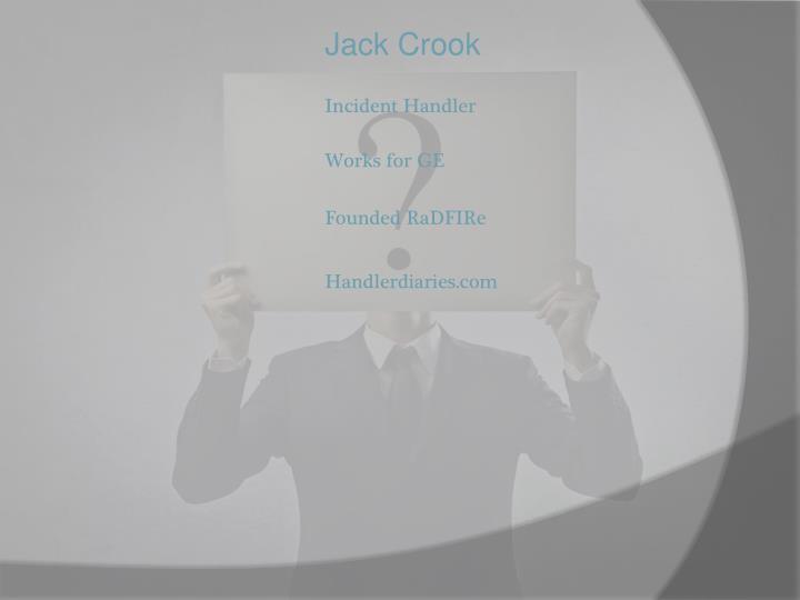 Jack Crook