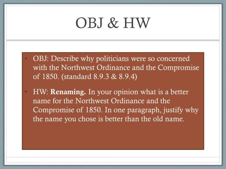 OBJ & HW