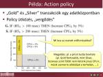 p lda action policy
