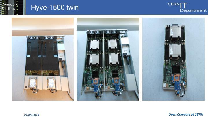 Hyve-1500 twin