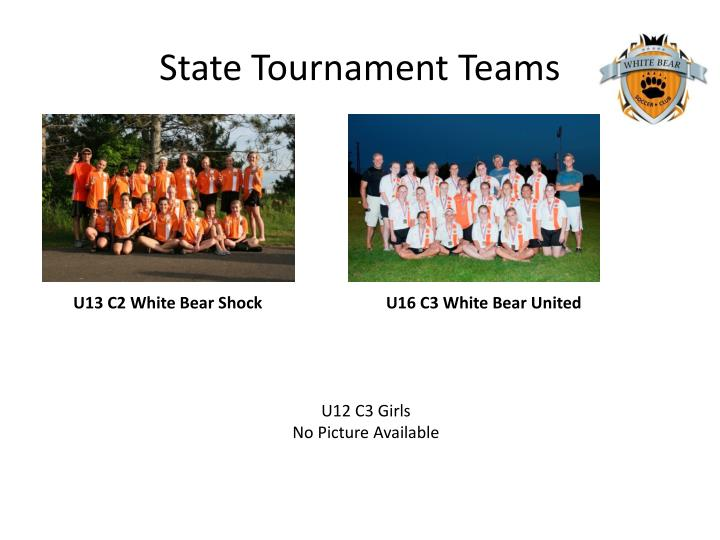 State Tournament Teams