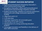 student success initiative1