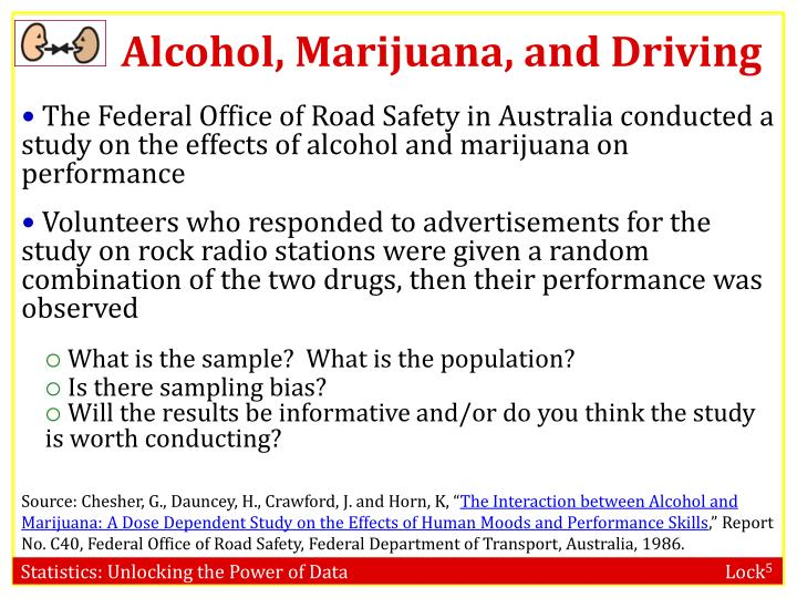 Alcohol, Marijuana, and Driving