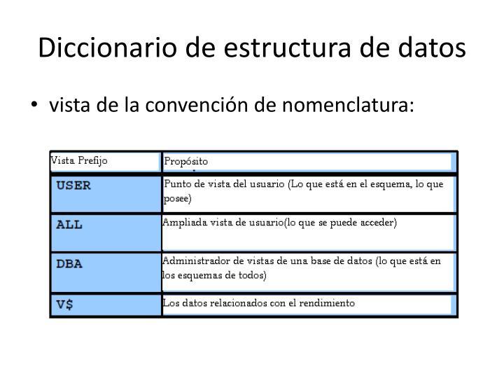 Diccionario de