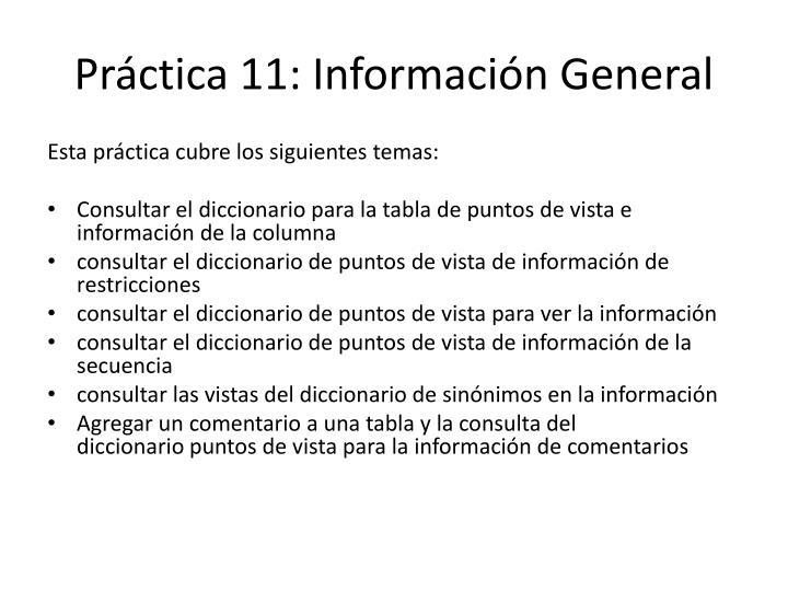 Práctica11:Información