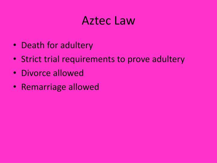 Aztec Law