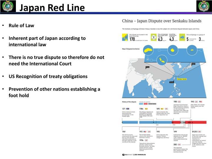 Japan Red Line