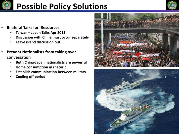 Possible Policy Solutions