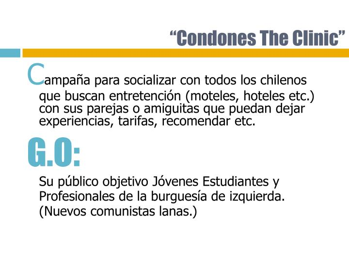 Condones the clinic
