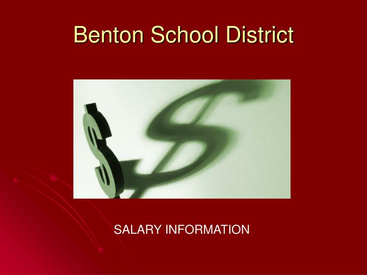 Benton school district