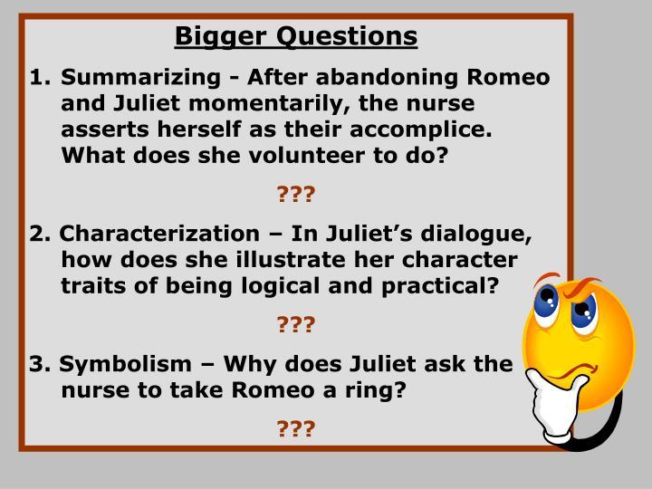 Bigger Questions